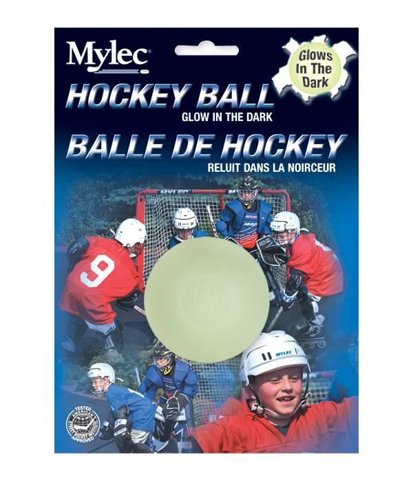 Mylec Glow-In-The-Dark Street Hockey Ball product image