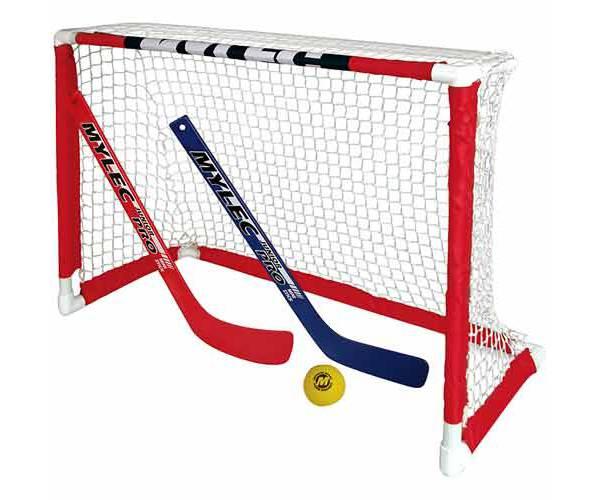 Mylec Pro Style Mini Hockey Goal Set product image