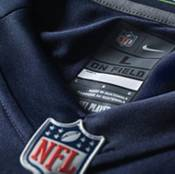 Nike Boys' Seattle Seahawks Russell Wilson #3 Navy Game Jersey product image