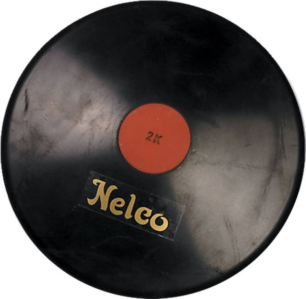 Nelco 1.6K Official Black Rubber Discus product image