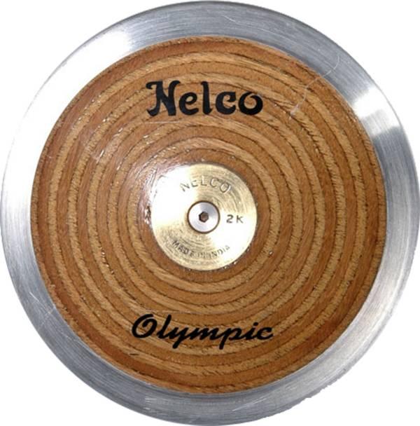 Nelco 1K Laminated Olympic Wood Discus product image