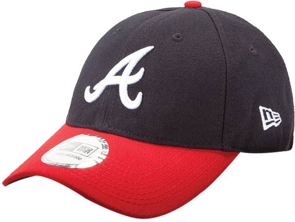 New Era Men's Atlanta Braves 9Forty Pinch Hitter Navy Adjustable Hat product image