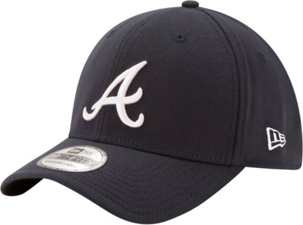 New Era Men's Atlanta Braves 39Thirty Classic Navy Stretch Fit Hat product image
