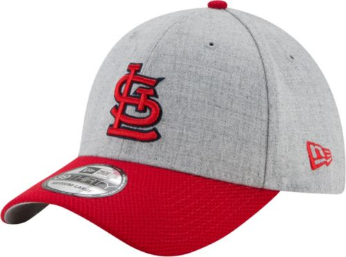 more photos 4acf0 ef414 New Era Men s St. Louis Cardinals 39Thirty Change Up Redux Grey Stretch Fit  Hat. noImageFound. Previous
