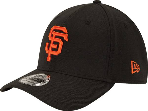 New Era Men's San Francisco Giants 39Thirty Classic Black Stretch Fit Hat product image
