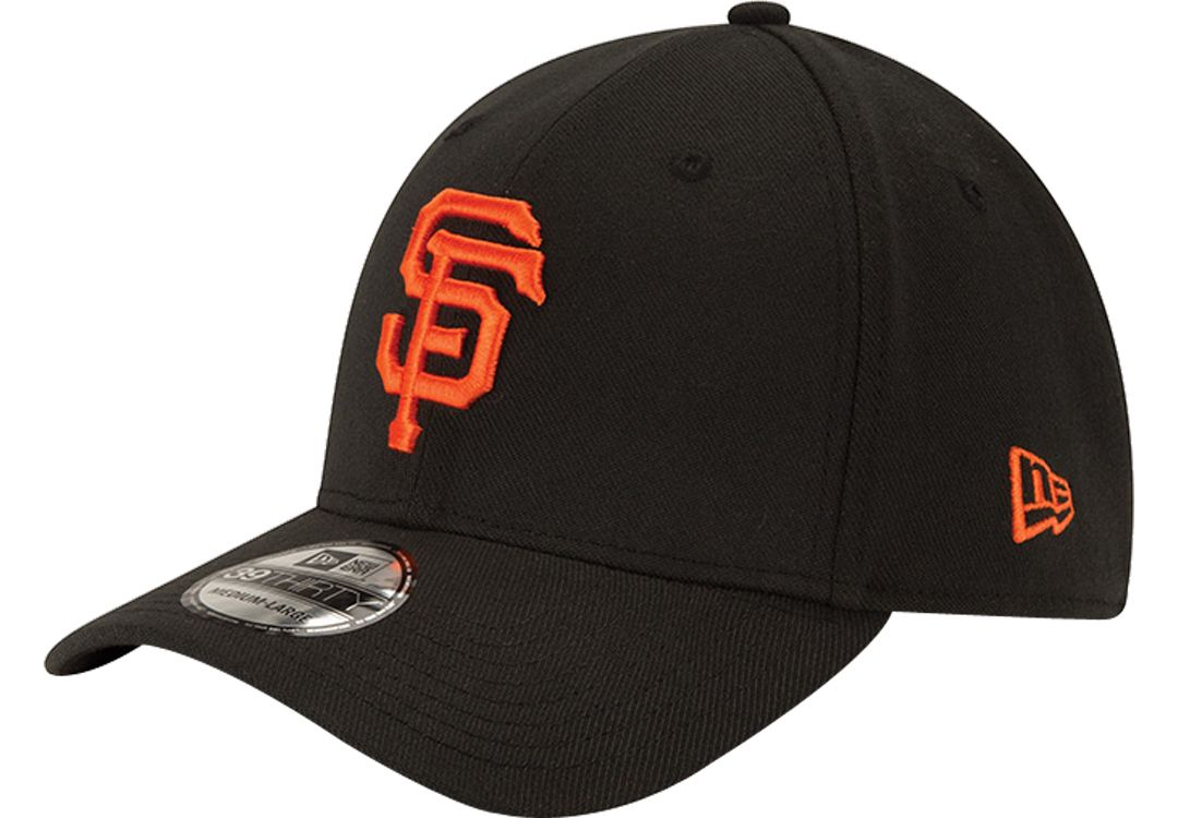 sale retailer 554be fc3ca New Era Men s San Francisco Giants 39Thirty Classic Black Stretch Fit Hat.  noImageFound. 1