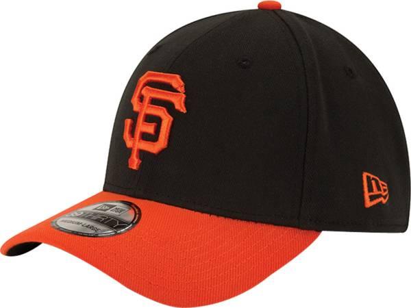 New Era Men's San Francisco Giants 39Thirty Alternate Classic Black Stretch Fit Hat product image