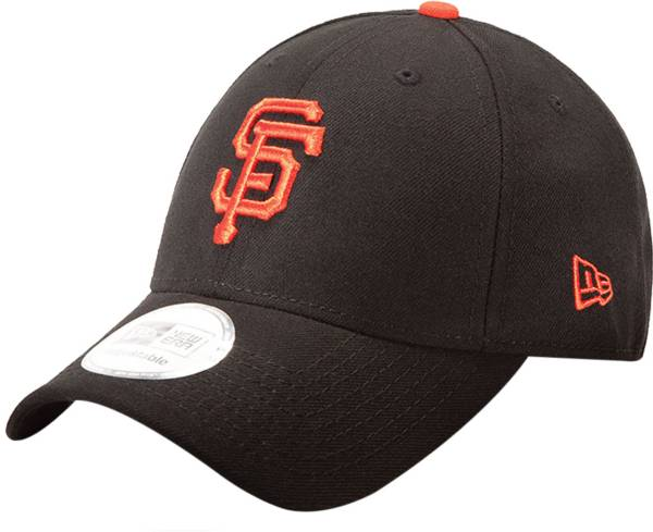 New Era Men's San Francisco Giants 9Forty Pinch Hitter Black Adjustable Hat product image