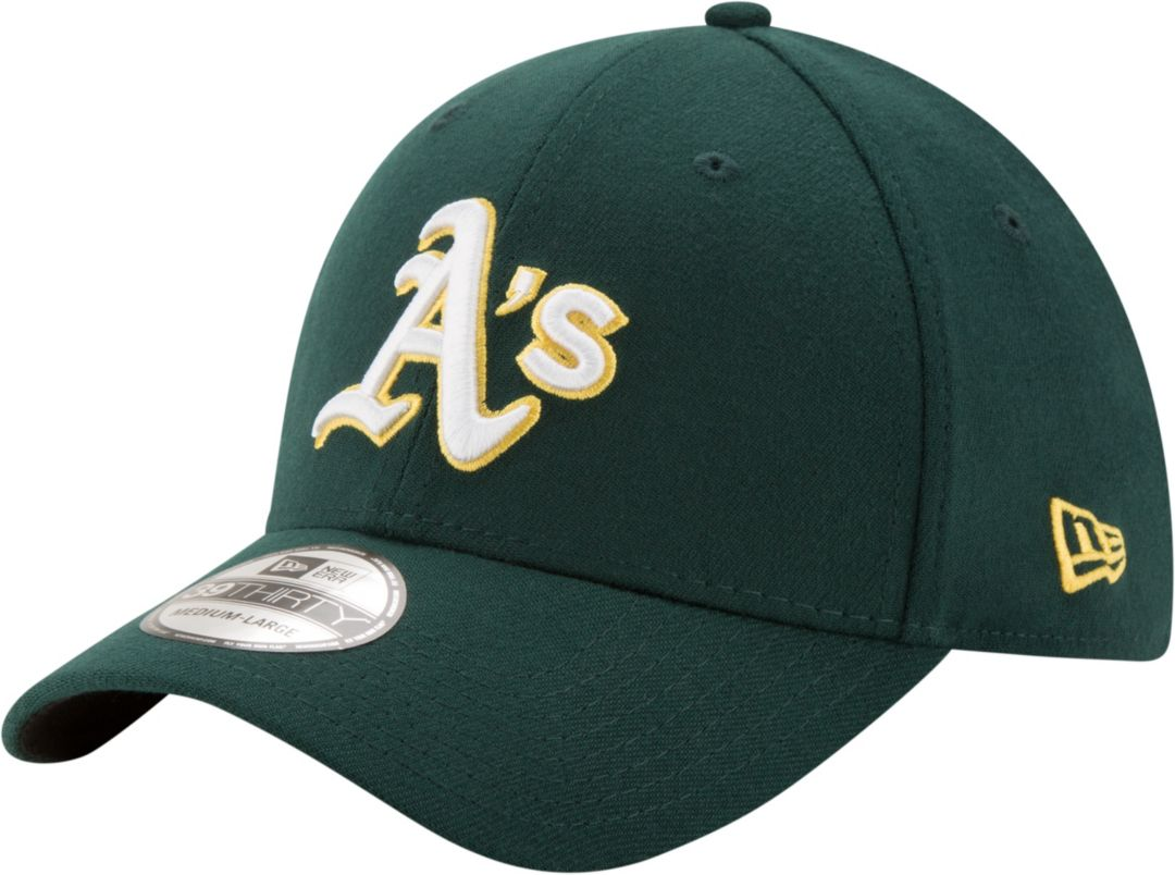 73aea2c2 New Era Men's Oakland Athletics 39Thirty Classic Green Stretch Fit Hat.  noImageFound. Previous
