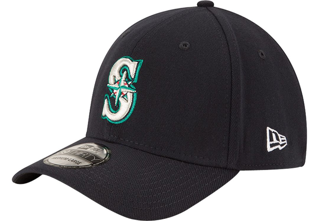 meet 92a0b f6ba3 New Era Men s Seattle Mariners 39Thirty Classic Navy Stretch Fit Hat.  noImageFound. 1