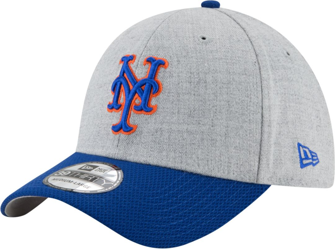 huge discount f9eab 8ec3d New Era Men s New York Mets 39Thirty Change Up Redux Grey Stretch Fit Hat.  noImageFound. Previous