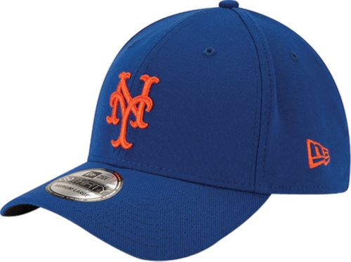42adde1506a New Era Men s New York Mets 39Thirty Classic Royal Stretch Fit Hat ...