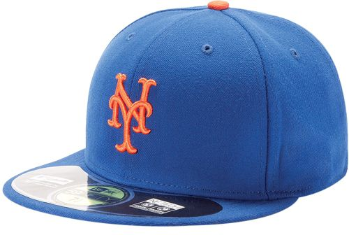 c37279f063f New Era Men s New York Mets 59Fifty Game Royal Authentic Hat. noImageFound.  1