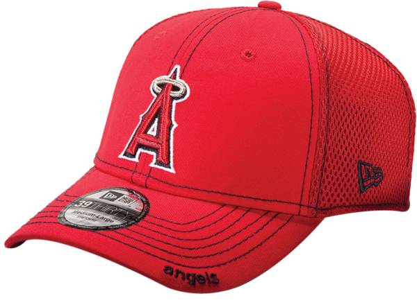 New Era Men's Los Angeles Angels 39Thirty Red Neo Stretch Fit Hat product image