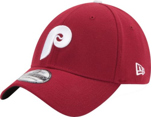 1b1e8454457 New Era Men s Philadelphia Phillies 39Thirty Cooperstown Classic Maroon  Stretch Fit Hat. noImageFound. Previous