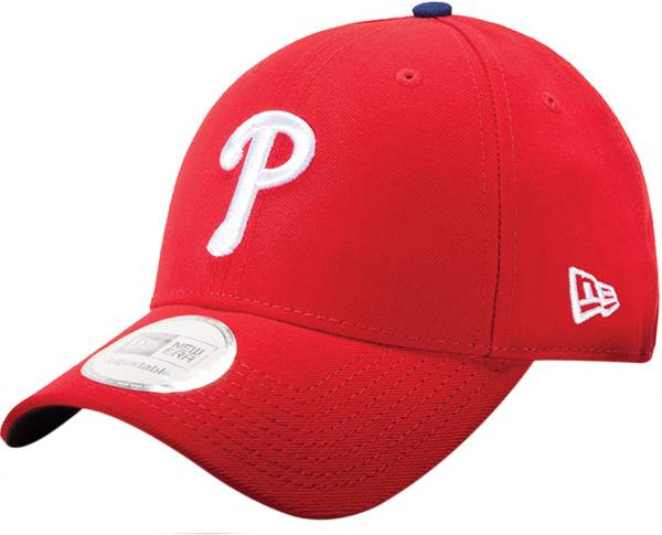 New Era Men's Philadelphia Phillies Red 9Forty Pinch Hitter Adjustable Hat product image