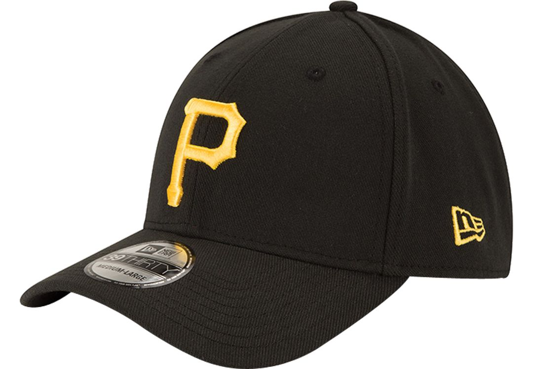 arrives a3cfc 3dbc3 New Era Men s Pittsburgh Pirates 39Thirty Classic Black Stretch Fit Hat.  noImageFound. 1