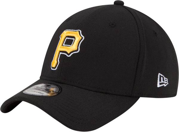 New Era Men's Pittsburgh Pirates 39Thirty Classic Black Stretch Fit Hat product image