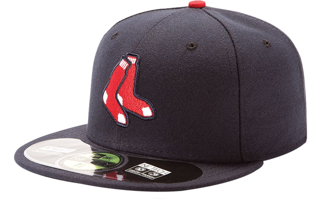 d63c7bf01e72b0 New Era Men's Boston Red Sox 59Fifty Alternate Navy Authentic Hat ...