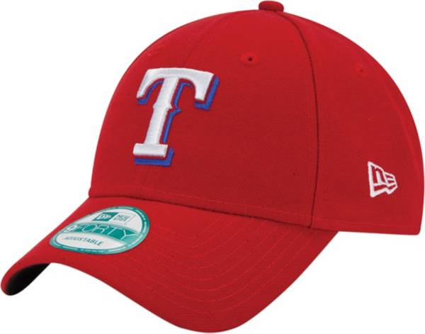 New Era Men's Texas Rangers 9Forty Red Adjustable Hat product image