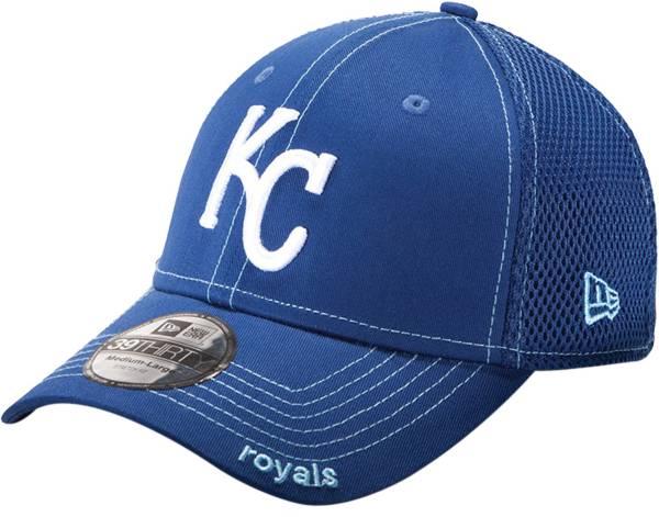 New Era Men's Kansas City Royals 39Thirty Neo Royal Stretch Fit Hat product image