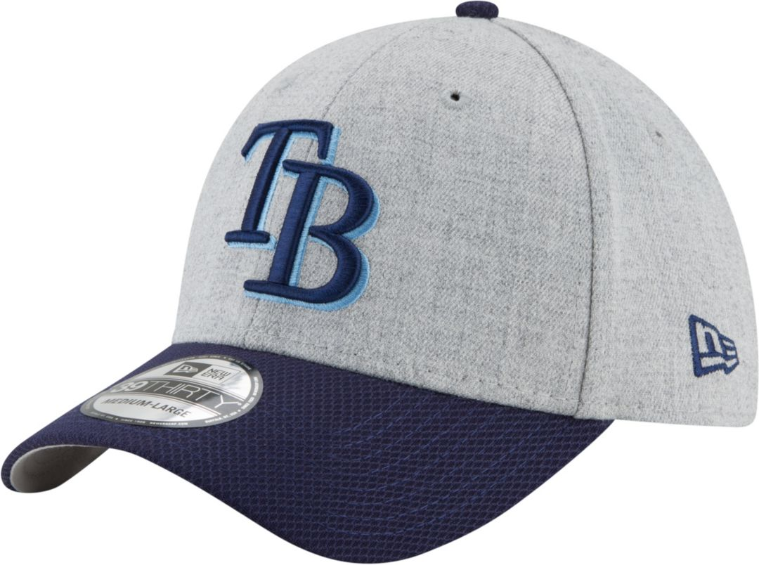 sports shoes 3ecb4 d2188 New Era Men s Tampa Bay Rays 39Thirty Change Up Redux Grey Stretch Fit Hat.  noImageFound. Previous