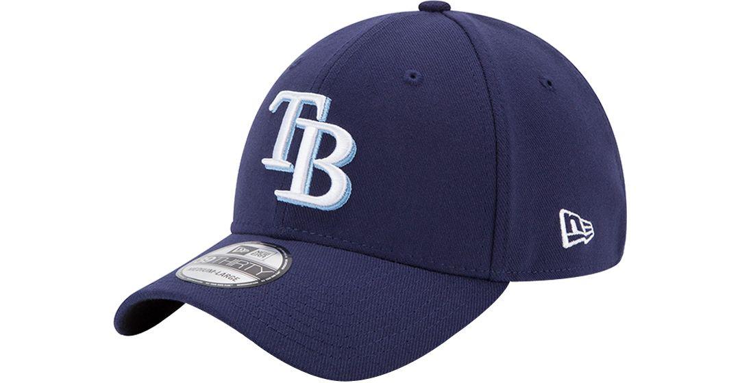 innovative design 1ccd3 9c7dd New Era Men s Tampa Bay Rays 39Thirty Classic Navy Stretch Fit Hat.  noImageFound. 1