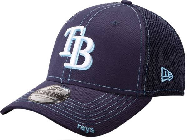 New Era Men's Tampa Bay Rays 39Thirty Neo Navy Stretch Fit Hat product image
