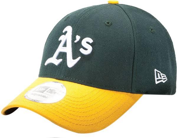 New Era Men's Oakland Athletics 9Forty Pinch Hitter Green Adjustable Hat product image