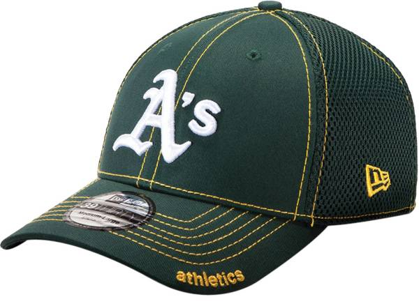 New Era Men's Oakland Athletics 39Thirty Green Neo Stretch Fit Hat product image