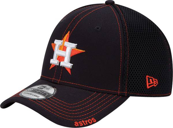 New Era Men's Houston Astros 39Thirty Navy Neo Stretch Fit Hat product image