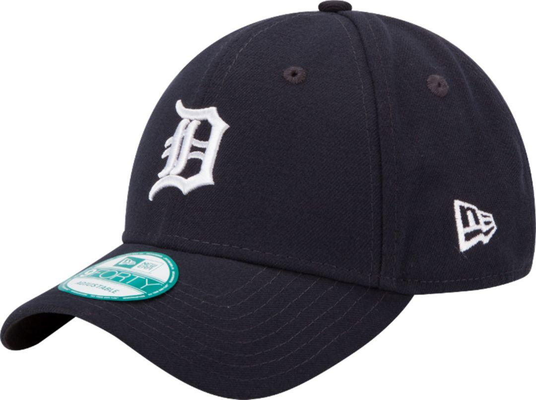 designer fashion b7491 af592 New Era Men s Detroit Tigers 9Forty League Navy Adjustable Hat.  noImageFound. Previous