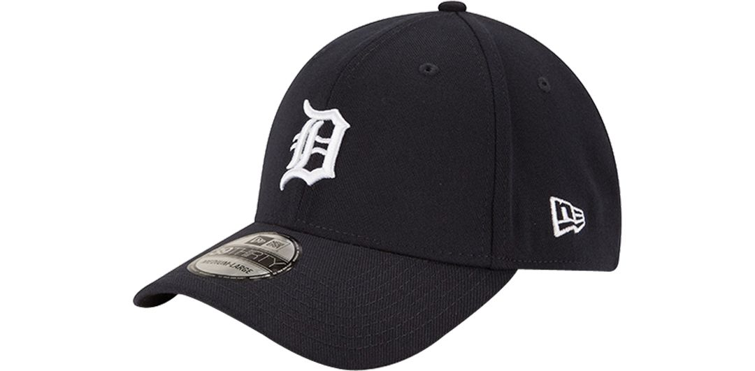 540c3f17e New Era Men's Detroit Tigers 39Thirty Classic Navy Stretch Fit Hat