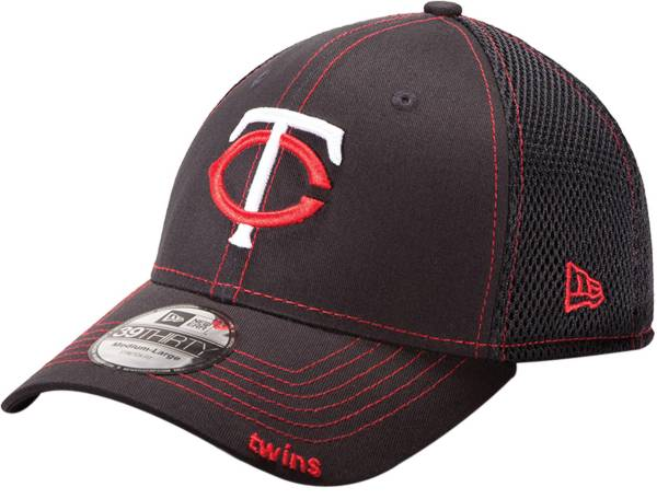 New Era Men's Minnesota Twins 39Thirty Neo Navy Stretch Fit Hat product image