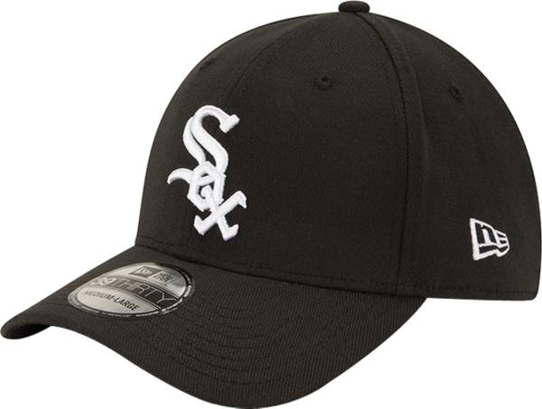 New Era Men's Chicago White Sox 39Thirty Classic Black Stretch Fit Hat product image