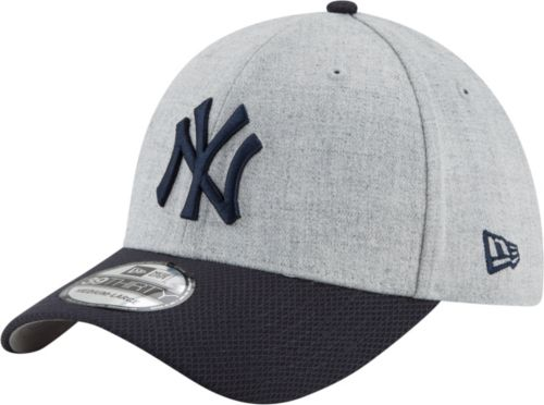86a07a490 New Era Men's New York Yankees 39Thirty Change Up Redux Grey Stretch Fit Hat.  noImageFound. Previous