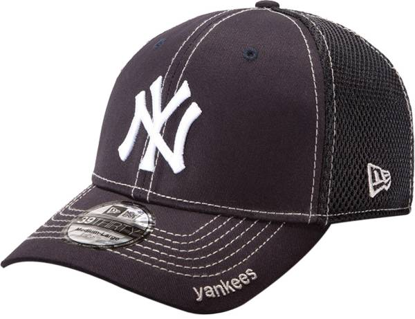 New Era Men's New York Yankees 39Thirty Neo Navy Stretch Fit Hat product image