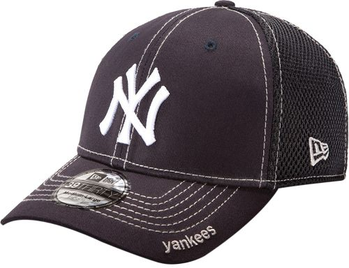 New Era Men s New York Yankees 39Thirty Neo Navy Stretch Fit Hat ... bedaa433105