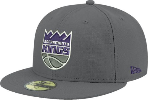 09015f1967fd New Era Men s Sacramento Kings 59Fifty Grey Fitted Hat. noImageFound.  Previous