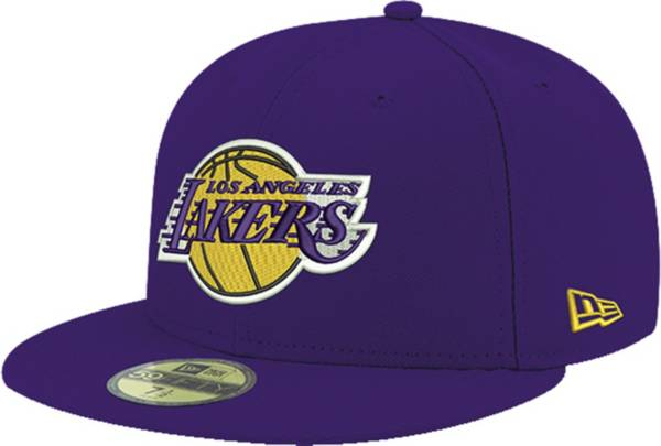New Era Men's Los Angeles Lakers 59Fifty Purple Fitted Hat product image