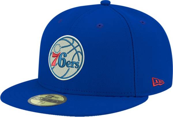 New Era Men's Philadelphia 76ers 59Fifty Royal Fitted Hat product image