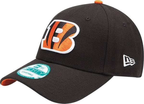 New Era Men's Cincinnati Bengals Black League 9Forty Adjustable Hat product image