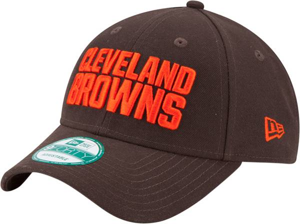 New Era Men's Cleveland Browns League 9Forty Brown Adjustable Hat product image