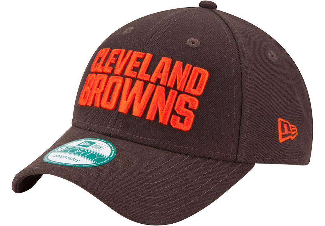 615b11b4f4db22 New Era Men's Cleveland Browns League 9Forty Brown Adjustable Hat.  noImageFound. Previous