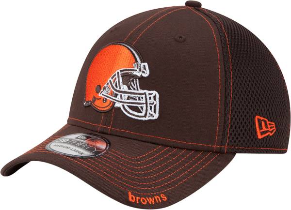 New Era Men's Cleveland Browns 39Thirty Neo Brown Stretch Fit Hat product image
