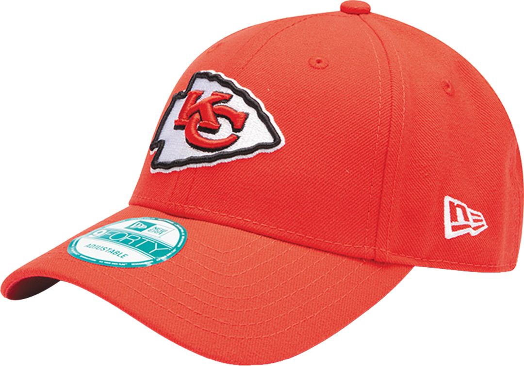 eb697441 New Era Men's Kansas City Chiefs Red League 9Forty Adjustable Hat