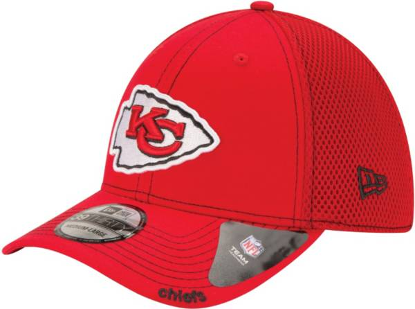 New Era Men's Kansas City Chiefs 39Thirty Neo Red Stretch Fit Hat product image