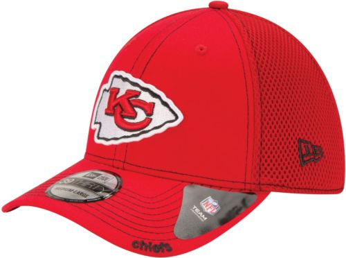 on sale 1d6f6 0ba9d New Era Men s Kansas City Chiefs 39Thirty Neo Red Stretch Fit Hat.  noImageFound. 1