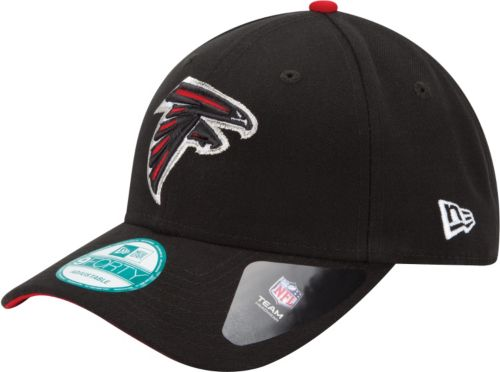 huge selection of 3b5b3 2d6af New Era Men s Atlanta Falcons League 9Forty Adjustable Black Hat.  noImageFound. Previous