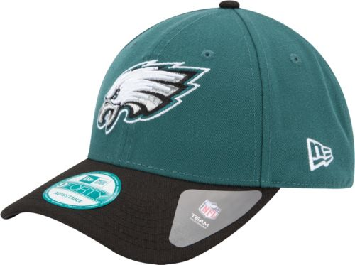 0be1c92e4b8 New Era Men s Philadelphia Eagles League 9Forty Adjustable Green Hat.  noImageFound. Previous